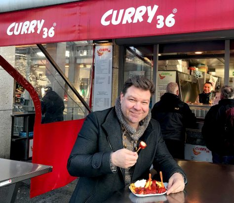 Normen Sträche, Curry36, Berlin, Currywurst