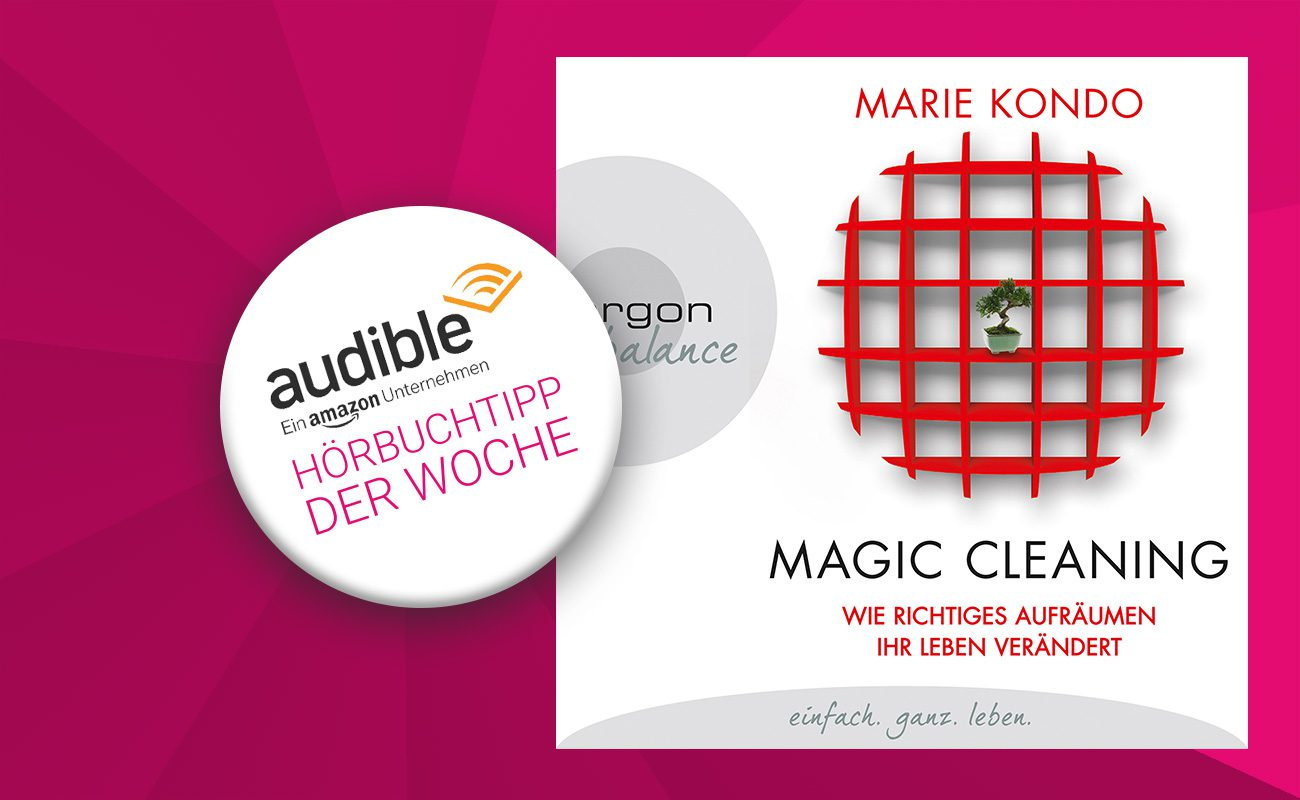 audible h rbuchtipp der woche magic cleaning von marie kondo berliner leben online. Black Bedroom Furniture Sets. Home Design Ideas