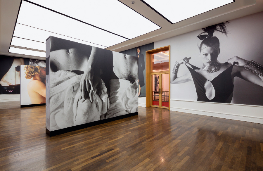 newton and guests ausstellung in der helmut newton. Black Bedroom Furniture Sets. Home Design Ideas